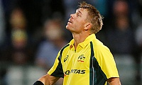 David Warner century powers Australia to 3-0 series victory