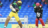 Chris Gayle (left) successfully led Jamaica Tallawahs to title win last season