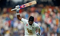 Rahul dismissed for 199 as India makes strong reply