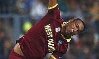 Samuel Badree injured his hamstring in the game against Sydney Sixers