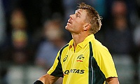 David Warner scored 130 runs off 119 deliveries