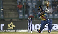 Angelo Mathews batted through pain to see his team through