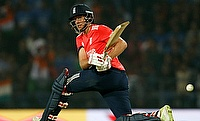 Joe Root was the leading run-scorer in the T20I series against India