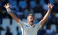 Neil Wagner suffered the injury while playing for Otago