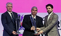 Shashank Manohar (centre) led the panel that proposed the new changes