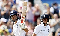 Alastair Cook (left) backs Joe Root to succeed as England Test captain