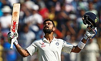 Virat Kohli scores yet another century for India