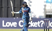 Veda Krishnamurthy scored a quick 29 in the chase