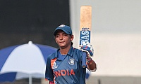 Harmanpreet Kaur scored unbeaten 41 runs