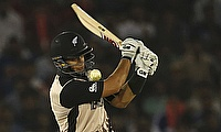 Ross Taylor scored his 17th ODI century