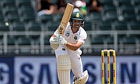 Dean Elgar was outstanding for South Africa in Dunedin
