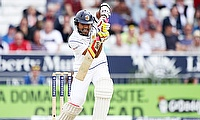 Dinesh Chandimal led a lone fight for Sri Lanka on day one