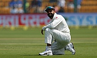 Virat Kohli suffered the injury in the 40th over of the innings