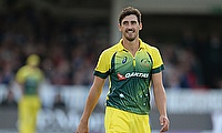 Mitchell Starc is hoping to be fit in time for the Champions Trophy