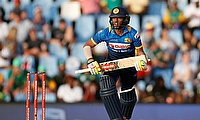 Kusal Mendis notched his maiden ODI century