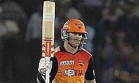 David Warner scored an unbeaten 76 off 45 deliveries in the chase