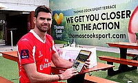 James Anderson Named As Thomas Cook Sport Brand Ambassador