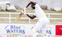 Jason Holder remained unbeaten on 55