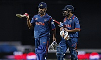 Both Gautam Gambhir (right) and MS Dhoni will face off on Wednesday