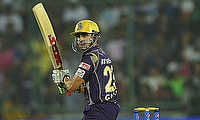 Gautam Gambhir led from the front once again for Kolkata Knight Riders