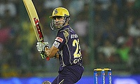 Gautam Gambhir had an outstanding day with the bat