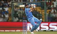 Steven Smith has credited MS Dhoni (pictured) for Pune's turnaround