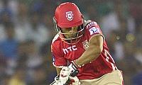 Wriddhiman Saha played a handy knock for Punjab