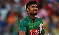 Sabbir Rahman scored a century before retiring out