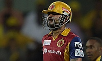 Virat Kohli scored a fifty for Royal Challengers Bangalore