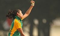Shabnim Ismail picked a four-wicket haul