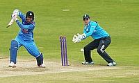 Smriti Mandhana (left) has returned to India Women squad