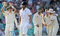 The Ashes rivals are separated by just one point