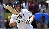 Jonathan Trott scored 175 for Warwickshire