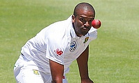 Vernon Philander picked two wickets for Sussex