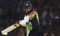 Aaron Finch scored 137 runs off 109 balls for Australia