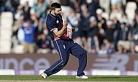 Mark Wood defended seven runs off the final over in Southampton