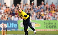 Liam Dawson picked eight wickets in the game