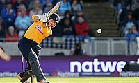 Hampshire's Jimmy Adams scored 166.