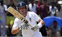 Jonathan Trott scored a fine century at number eight