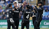 New Zealand were found two overs short of the allotted time to complete their overs