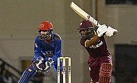 Shai Hope (right) was the saviour for West Indies in the second ODI