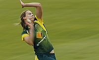 Jess Jonassen picked three wickets for Australia