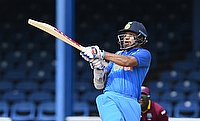 Shikhar Dhawan top scored for India in the rain affected game