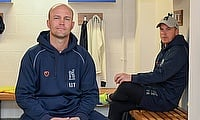 Jonathan Trott (left) and Tim Ambrose