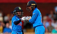 Smriti Mandhana (right) has been in top form for India