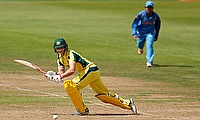 Meg Lanning (left) led from the front against India