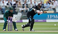 Kumar Sangakkara (right) played another fine knock for Surrey