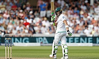 Faf du Plessis celebrating his half-century