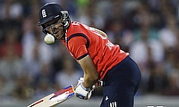 David Willey recorded his career highest score of 115