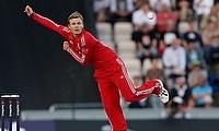 Danny Briggs was impressive for Sussex